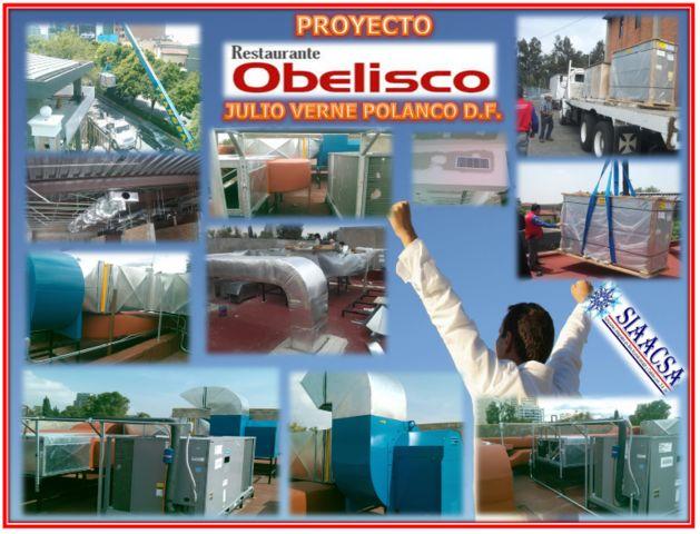 Proyecto restaurante obelisco siaacsa aire acondicionado for Proyecto restaurante pdf